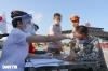 하노이시: 검역 검문소 22개에서 진행되는 의료 검역 상황