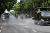 베트남의 전시적인 방역활동 효과있을까? 야외 도로에 소독제 왜 살포할까?