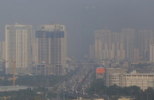 하노이시: 대기 미세먼지로 인해 기대 수명 2.5년 단축…,대기 환경 대책 시급