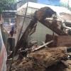 라오까이시: 새벽에 2층 주택 갑자기 '폭삭'... 인명 피해는 없어