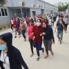 베트남 중부지역 중국계 의류회사 약 500여 명 파업