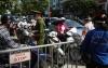 하노이시: 검역 검문소 통제 강화에 출근길 혼란..., 증명서 지참 필수