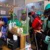 하노이시: 식음료 배달 주문 폭증..., 코로나 예방 규정 준수는 미흡