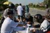 하노이시: 검역 검문소에서 의심사례 25건 확인, 차량 약 1,500대 진입 중단 등