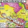 호찌민市, 메트로 2호선 2020년으로 연기.., 계획보다 7년 지연
