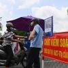 호찌민시: 지역 봉쇄는 아니지만..., 급격한 확진자 발생에 출입 통제 강화