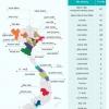 베트남 4월 27일 이후 14일만에 전국 25개 지역에서 411건 확진
