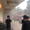 하노이시, 명품 판매점 쨩띠엔 프라자 지하 주차장에서 화재 발생