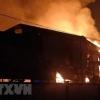 빈증성: 한국계 가구 제조 공장에서 대형 화재 발생