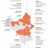 하노이시: 확진자 발생으로 봉쇄된 지역..., 3634번 확진자로 5개 지역 추가