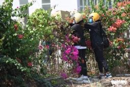 호찌민시, 격리 시설 물품 반입 금지에도 울타리 넘어 불법 반입