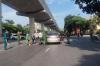 하노이시: 벌금 낼까 두려워 달아나다 검문 중인 경찰과 충돌..., 경찰은 응급 후송