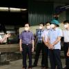 박장성:  공장 2곳에서 코로나 양성 사례 9건 확인..., 지역 방역 강화
