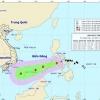 베트남, 태풍 카이탁 동해로 접근 중
