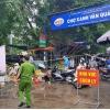 하노이시: 코로나 의심 사례로 재래 시장 일시 차단