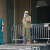 하노이시: 코로나19 양성 사례로 아파트 일시 차단