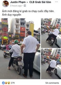 베트남 오토바이 운전자의 깃털같은 균형감각