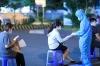 하노이시: 동아잉 지역 사회에서 코로나 감염 의심 사례 발생