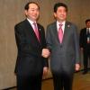 베트남 국가 주석 일본 아베 총리와 회담.., 양국 협력 강화 노력