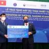한국 정부, 베트남에 원격체온모니터 40대 지원..., 방역 협력 강화