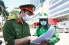 하노이시: 도로 이동 통제 강화... 부적절한 이동 확인 위해 추가 서류 제시 요청 등
