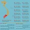 베트남에서 지시령 16호에 따른 거리두기 진행 중인 지역은 어디?