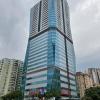 하노이시: 탱쑤언구 다이아몬드 플라워 주상복합 아파트 21개층 일시 봉쇄
