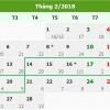 베트남, 2018년 뗏(tet) 휴가 2/14일부터 7일 연휴.., 총리 승인