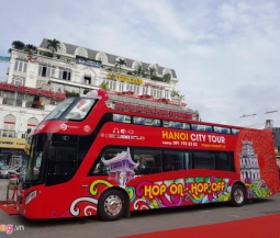 하노이, 호안끼엠 2층 버스 운행 루트 및 요금