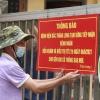 하노이시: 동아잉 지역 골목 봉쇄 및 병원 일시 차단