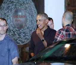 오바마 전 미국 대통령 부부, 호찌민시 베트남식 전통 식당에서 저녁 식사