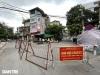 """하노이시: """"구역 1""""로 지정된 동다구 일부 지역 의료봉쇄 결정"""