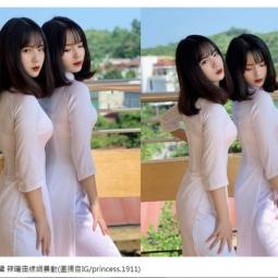 고등학생 쌍둥이 자매 사진에 중국이 들썩