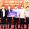 삼성 베트남: 박닌성에 코로나 방역 지원 위해 100억동 기부