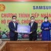 삼성 베트남, 북부 타이응옌성에 110억동 기부..., 삼성 코로나 기부금 누적 667억동