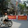 하노이 최초로 지역 봉쇄된 거리에서의 일상 생활