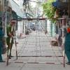 호찌민시: 코로나 확진자 4명의 거주지 골목 봉쇄.., 방역 대응 강화 중