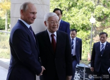 러시아 푸틴 대통령, 베트남 방문 초청 수락