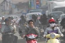 하노이市, 심각한 대기오염으로 시민들 '고통'