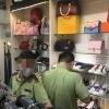 하노이시: 명품 위조 상품 판매하던 상점 발각.., 온라인에서도 판매