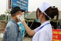 하이퐁, '24시간 검역팀' 운영, 도시 진입 차량 검사.., 가장 적극 대응