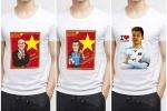 베트남, 축구 대표팀 사진 인쇄된 T셔츠 인기..., 결승전 관전 준비