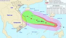 하노이, 태풍 판폰 영향으로 내일부터 쌀쌀해져.., 중북부 지역에 영향