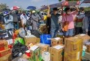 베트남, 격리 시설 넘쳐나는 택배로 몸살.., 매트리스, 냉장고, 음식 등