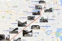 하노이, 최초의 '지상철' 2A 호선 노선도
