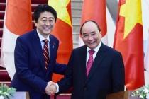 베트남-일본 총리 하노이에서 정상회담, 양국 관계 논의
