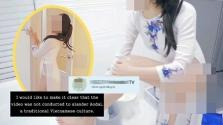 한국 유튜버, 베트남 전통 의상 아오자이 잘못 입어.., 네티즌들 뭇매에 '사과'