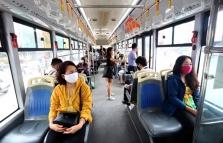 하노이市, 버스 감회 운행 약 12,400회 전체의 약 80% 수준