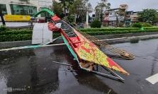 오늘 오전 베트남 중부에 20년 만에 가장 강력한 태풍 상륙