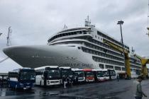 다낭市, 유럽 여행객 200여 명 태운 크루즈 입항